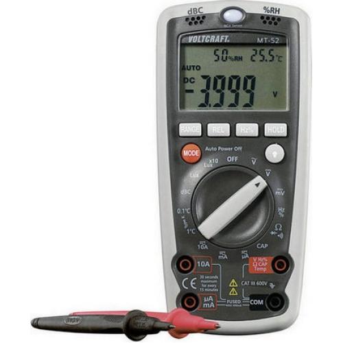 Digitální multimetr VOLTCRAFT MT-52 122900