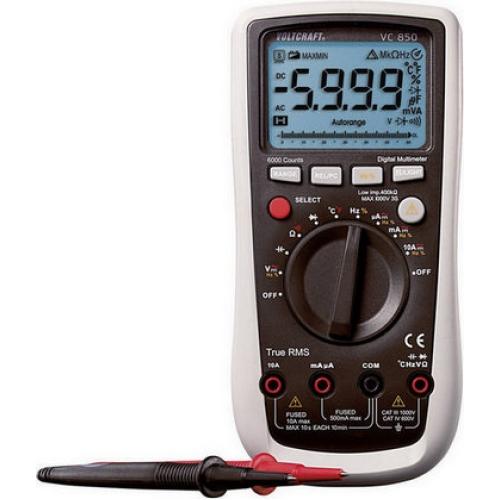 Digitální multimetr VOLTCRAFT VC-850 124602