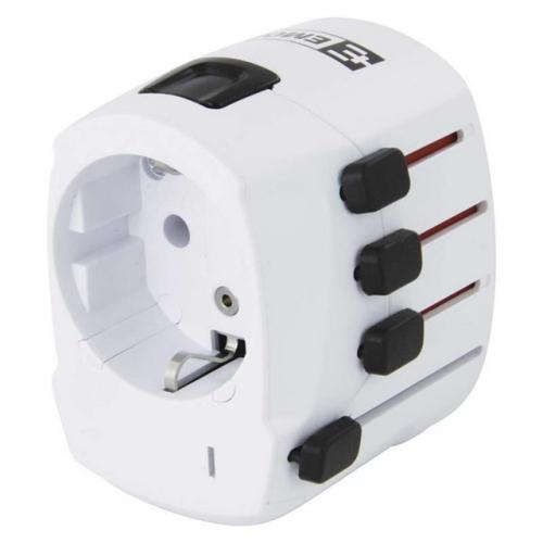 Adaptér/redukce cestovní EMOS P0056 (pro Evropany v zahraničí)