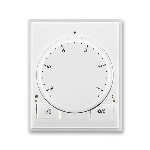 ABB Element termostat bílá/ledová bílá otočný 3292E-A10101 01
