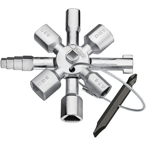 Klička na zámky rozvaděčů Knipex 00 11 01 multifunkční