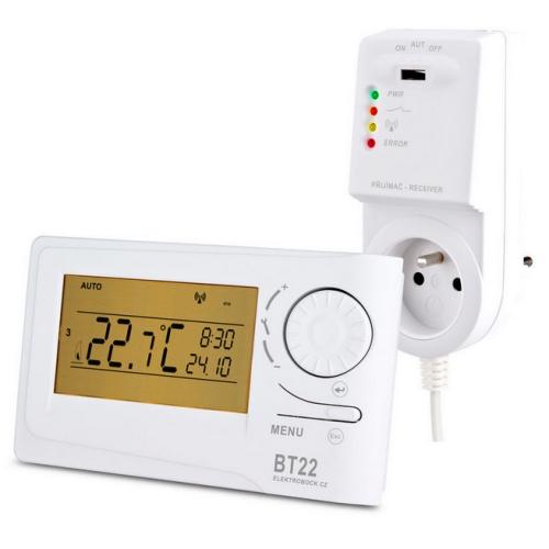 Bezdrátový termostat ELEKTROBOCK BT22 (dříve BPT22)