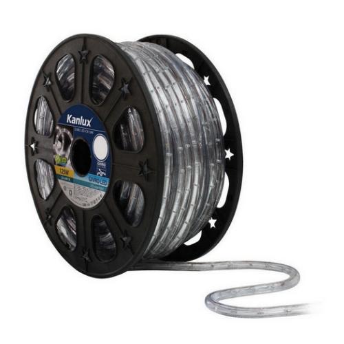 LED světelný řetěz Kanlux GIVRO LED-CW 50M 2,5W/m studená bílá 08630