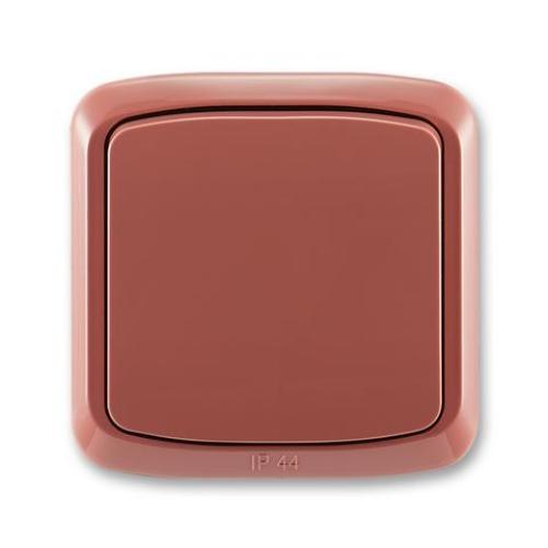 ABB Tango vypínač č.6 IP44 vřesová červená 3558A-06940 R2