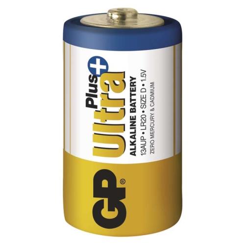 Baterie D GP LR20 Ultra Plus alkalické