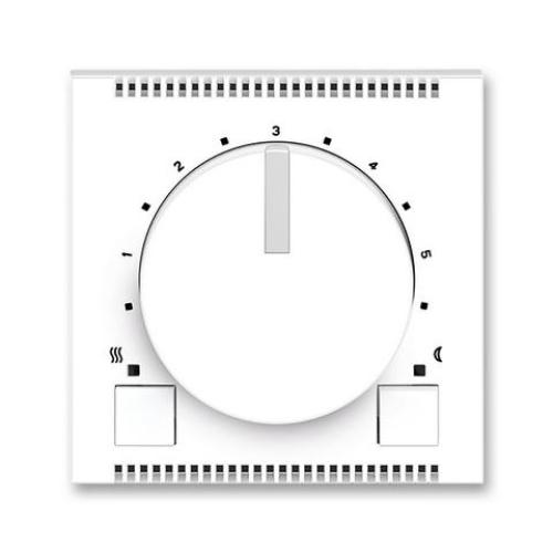 ABB Neo termostat otočný 3292M-A10101 01 bílá/ledová bílá