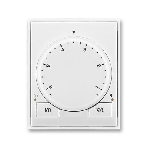 ABB Time, Time Arbo termostat otočný 3292E-A10101 03 bílá/bílá