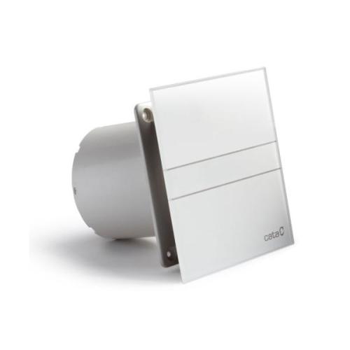 Ventilátor do koupelny CATA e100 G se skleněným panelem