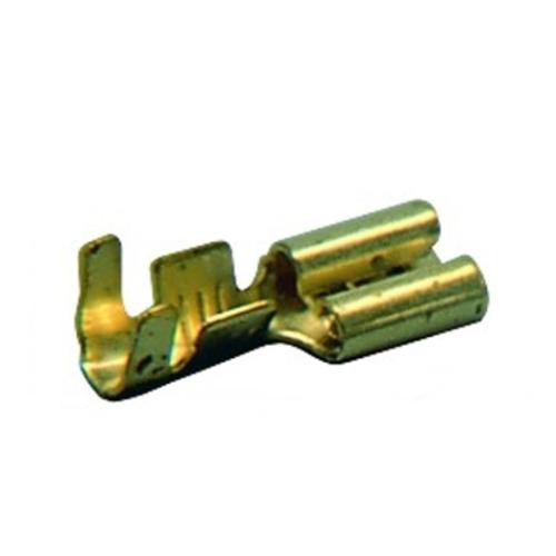 Konektory faston GPH PK 1,5-F 405-V rozměry 4,8x0,5mm průřez 0,5-1mm2 (100ks)