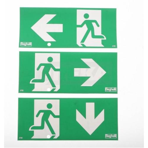 Sada piktogramů (dveře vlevo, dveře vpravo, dveře dole)