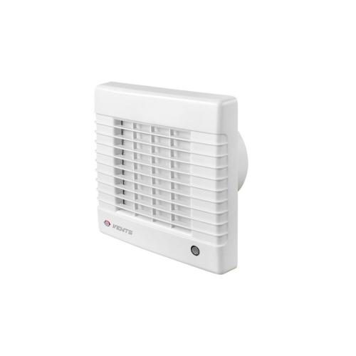 Koupelnový ventilátor s automatickou žaluzií a časovým doběhem VENTS 100MAT