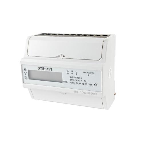 Elektroměr DTS 353-L, 7mod. LCD,3F 100A, 1tarif /AM 041L/