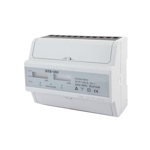 Elektroměr DTS 353-L 7mod. LCD, 3F 100A, 2tarif /AM 041L/