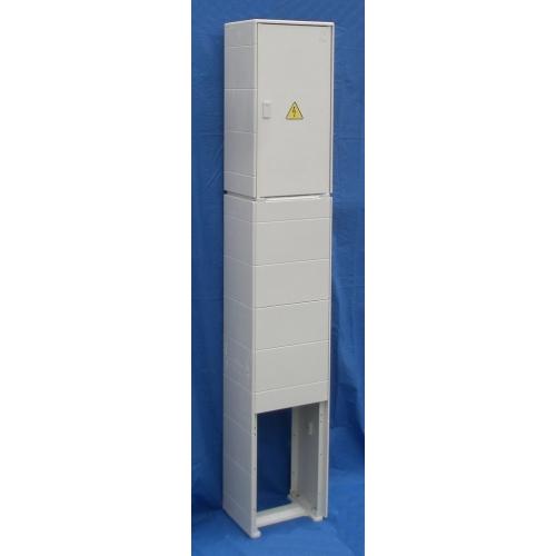 Elektroměrový rozvaděč DCK ER112/NKP7P šedý pro ČEZ, E.ON