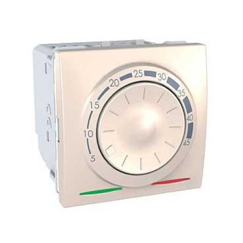 Schneider Unica termostat pro podlahové vytápění marfil MGU3.503.25