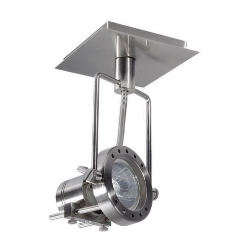 Svítidlo Kanlux SONDA EL-1L 50W GU10 saténový chrom 04795