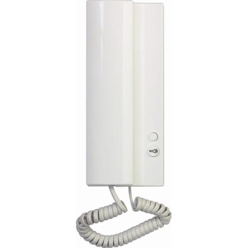 Domovní telefon TESLA ELEGANT se bzučákem bílá 4FP 211 01.201