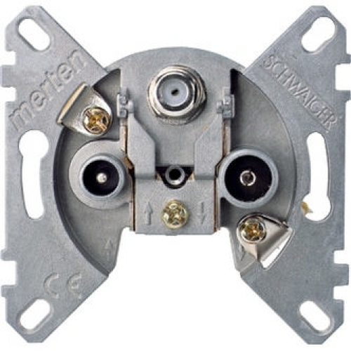 Merten Mechanismus zásuvky TV-R-SAT MTN466097