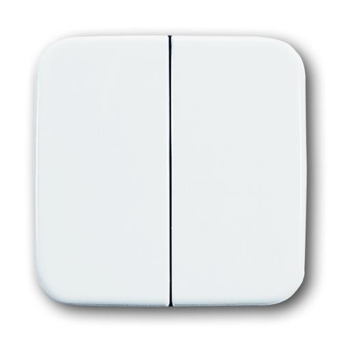 ABB Reflex SI kryt vypínače dělený alpská bílá 3559B-A00652214