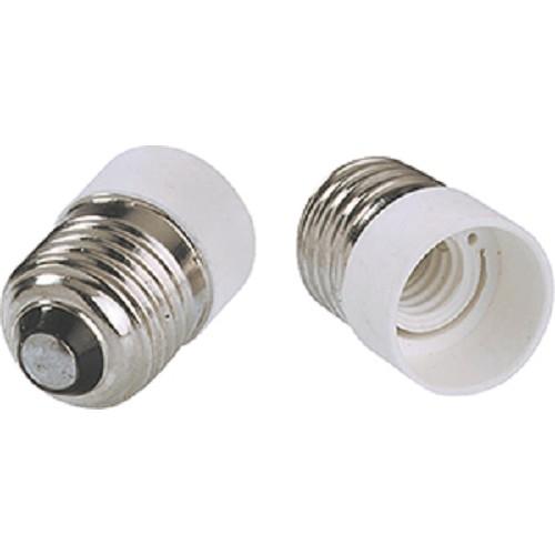 Redukční objímka E27 na E14 plast bílá 730.005