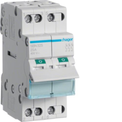 Instalační vypínač hager SBN325 3P 25A