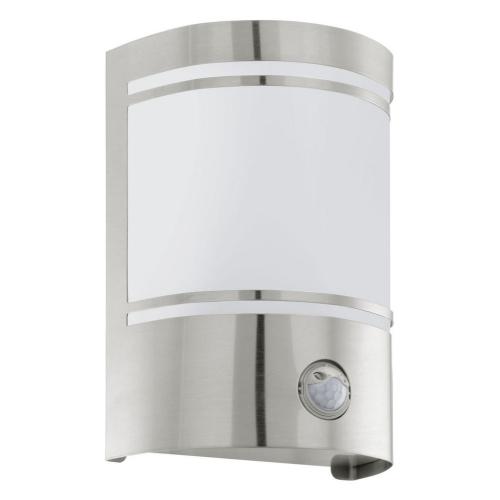 Venkovní nástěnné svítidlo EGLO Cerno 30192 1xE27/40W s pohybovým čidlem