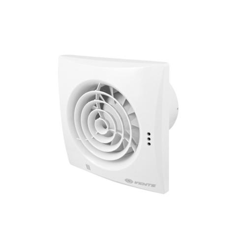 Koupelnový ventilátor se zpětnou klapkou a časovým doběhem VENTS 100 QUIET T se sníženou hlučností