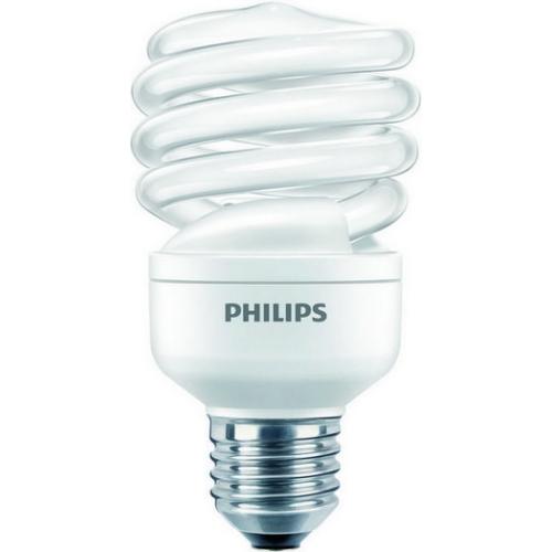Úsporná žárovka Philips ECONOMY TWISTER 20W WW E27 teplá bílá 2700K