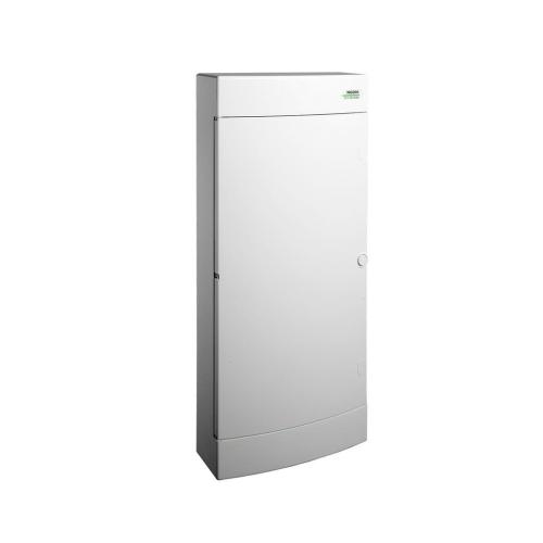 Rozvodnice na omítku NOARK PNS 48W bílé dveře 101510