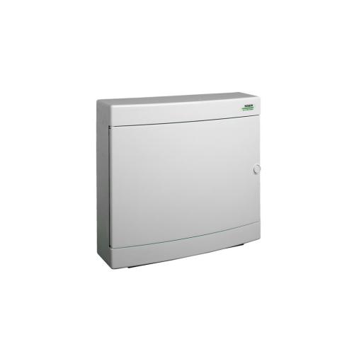 Rozvodnice na omítku NOARK PNS 2x18W bílé dveře 101508