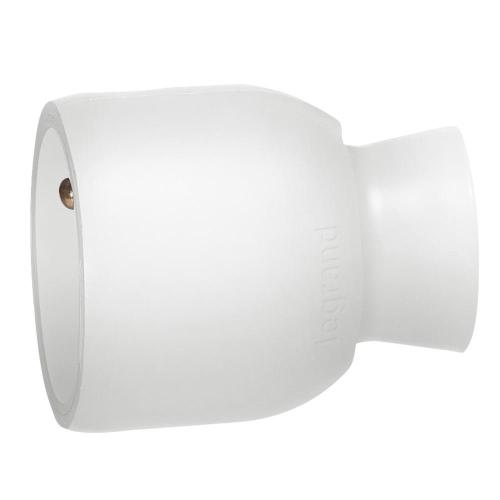 Legrand spojka/zásuvka 2P+T 50417 bílá