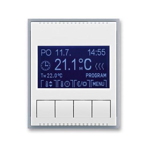 ABB Element termostat pokojový bílá/ledová šedá 3292E-A10301 04 programovatelný