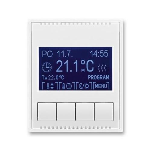 ABB Element,Time termostat pokojový bílá/bílá 3292E-A10301 03 programovatelný