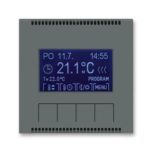 ABB Neo termostat pokojový grafitová 3292M-A10301 61 programovatelný
