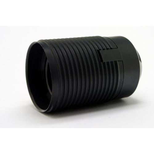 Objímka Desko 1352-13000 E27 s vnějším závitem černá