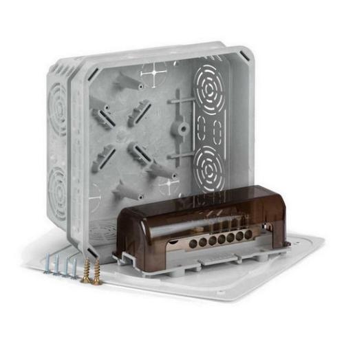 Krabice s ekvipotencionální svorkovnicí KOPOS KO 125E/EQ02 (pro drát i pásku)