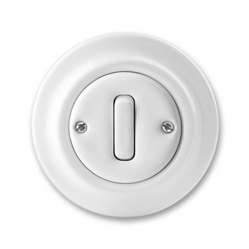 ABB Decento vypínač č.7 bílá 3559K-C07345 porcelán