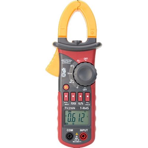 Ampérmetr klešťový Testboy TV 600V AC 600V DC 600A AC+DC NM 00200056