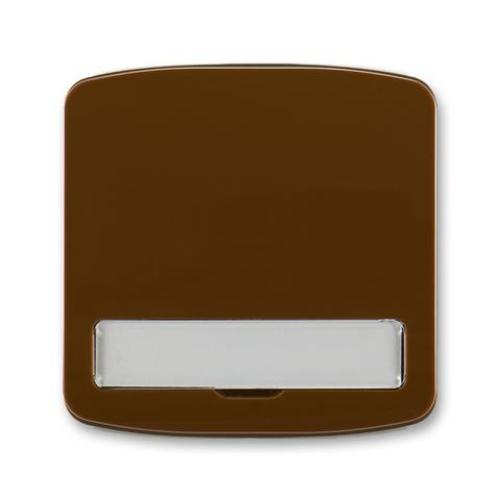 ABB Tango kryt vypínače s popisovým polem hnědá 3558A-A00620 H