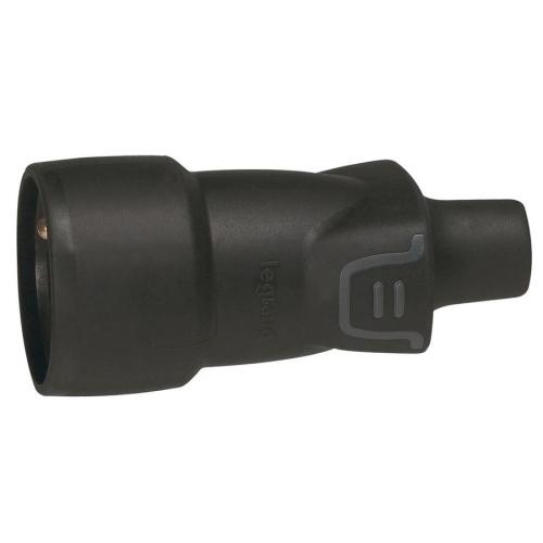 Legrand spojka/zásuvka gumová 230V/16A 50446