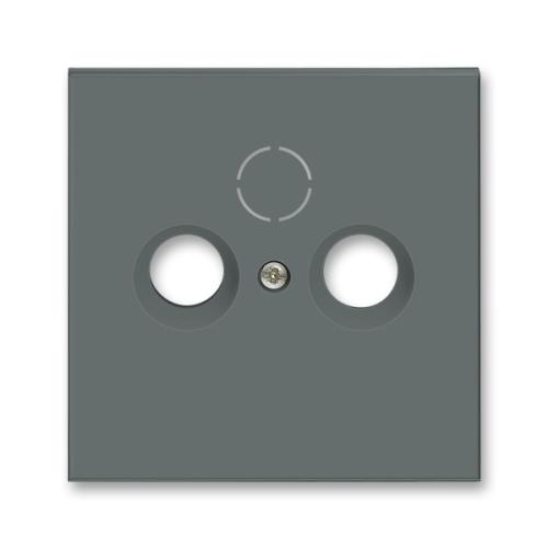 ABB Neo kryt zásuvky televizní grafitová 5011M-A00300 61