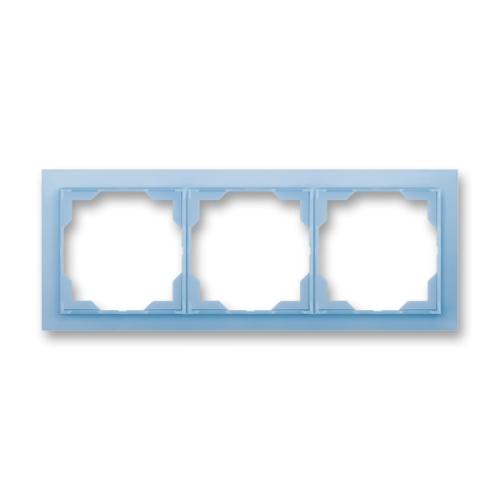 Levně ABB Neo trojrámeček ledová modrá 3901M-A00130 41