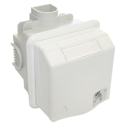 Vestavná zásuvka PCE 230V 16A IP44 bílá 883108V