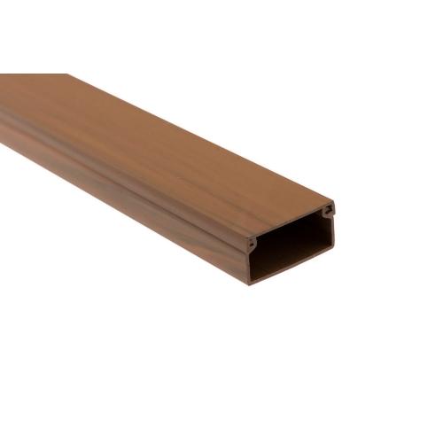 Lišta na kabely Malpro D1010-8835K EILM 18x13 2m imitace dřeva tmavá