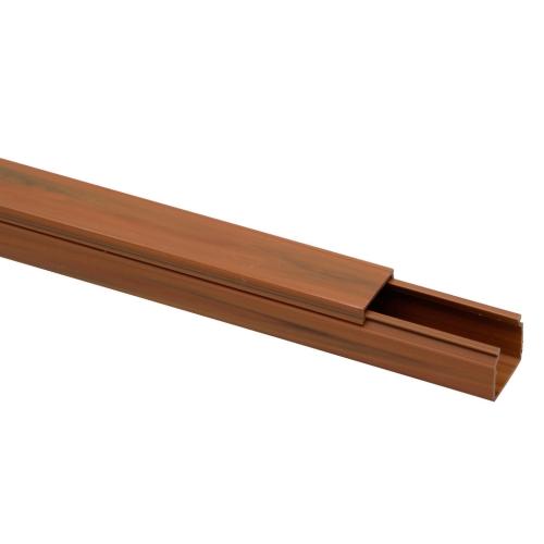 Lišta na kabely Malpro D1002-8835K EILM 18x18 2m imitace dřeva tmavá