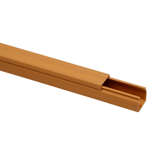 Lišta na kabely Malpro D1002-8802K EILM 18x18 2m imitace dřeva světlá