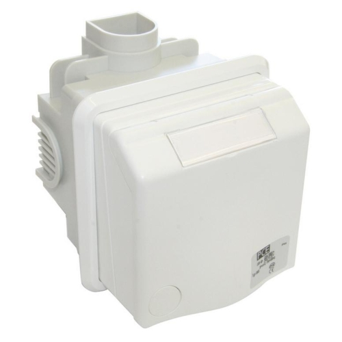 Zásuvka pod omítku PCE 885-6V 16A/5P/400V IP44