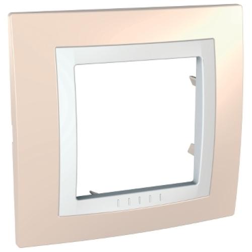 Schneider Unica Basic rámeček cream/polar MGU2.002.859