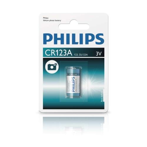 Baterie do fotoaparátu Philips CR123A /01B lithiová