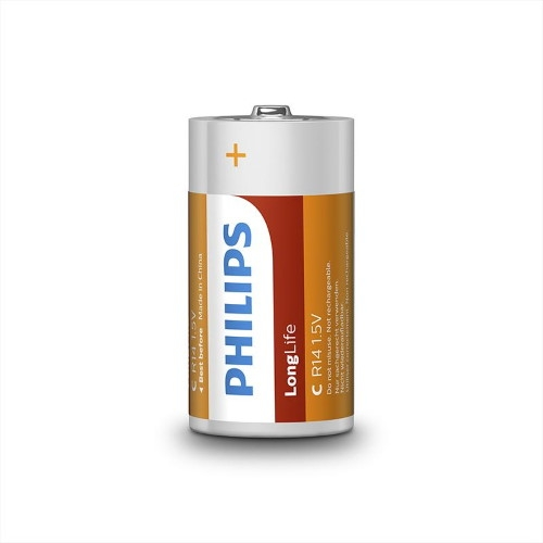 Baterie C Philips LongLife R14 L2F/10